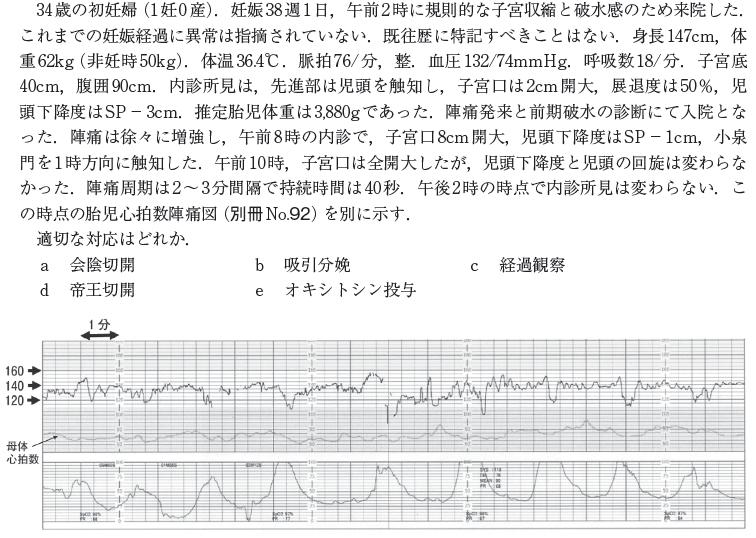 医師国家試験 115F46 問題文